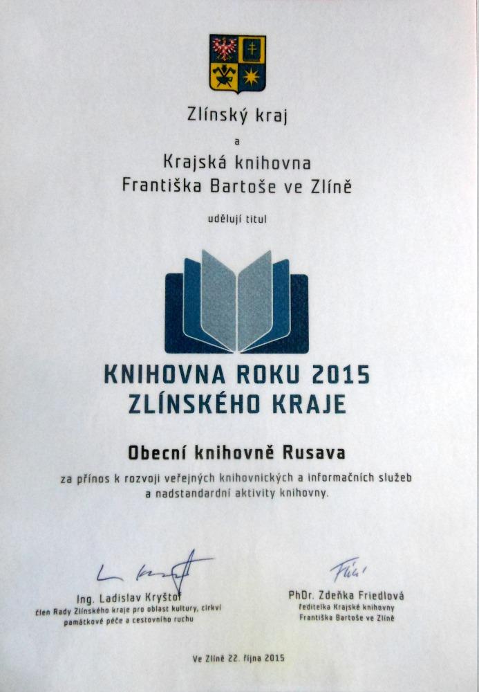 OBRÁZEK : oceneni_knihovny_za_2015.jpg